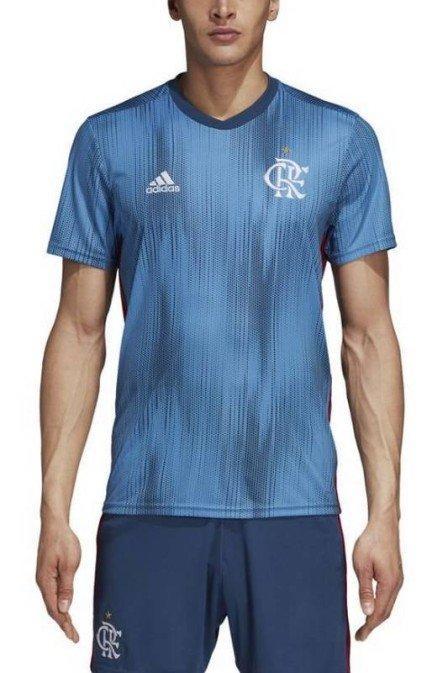 Nova terceira camisa do Flamengo (Crédito: Divulgação)