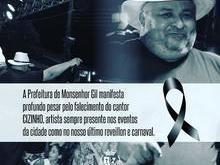 Prefeito João Luiz lamenta pela morte de Cizinho