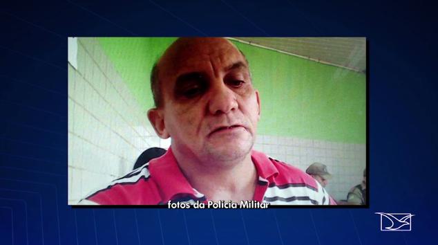 Sargento preso por receptação de carro roubado (Crédito: TV Mirante/Reprodução)
