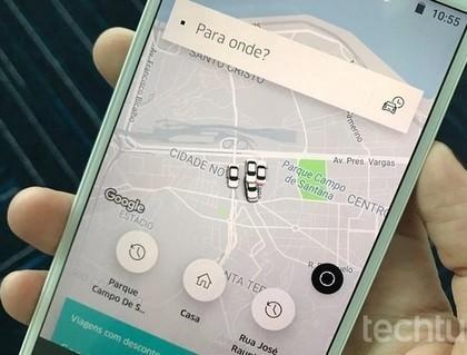 Uber libera botão de pânico e mostra localização ao vivo