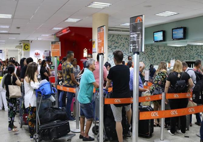 Aeroporto Petronio Portela em Teresina (Crédito: Divulgação/OAB)
