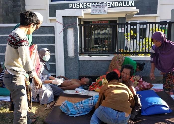 Vítimas de terremoto (Crédito: Antara Foto/Zakir/Reuters)