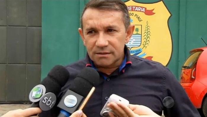 Diretor da Penitenciária Professor José Ribamar Leite, Jean Carlos Bezerra (Crédito: Rede Meio Norte)