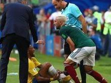 Jogador que pisou em Neymar diz que não discutirá com brasileiros