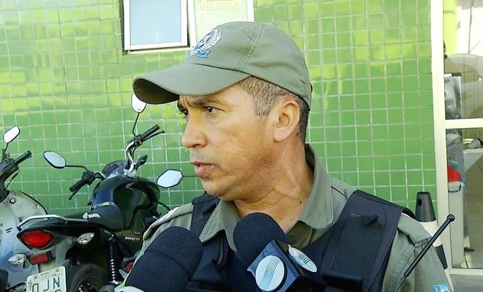 Cabo Davi conversou com adolescente baleado (Crédito: Reprodução/TVMN)