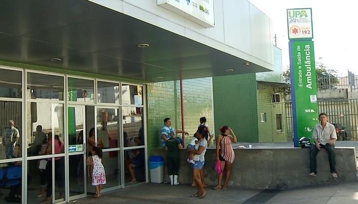 Feridos foram levados para UPA do Renascença (Crédito: Reprodução/TVMN)