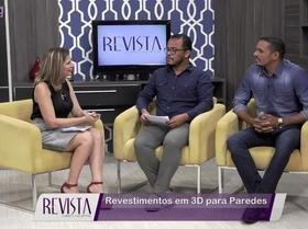 Revista MN: Entrevista destaca o revestimento em 3D para paredes