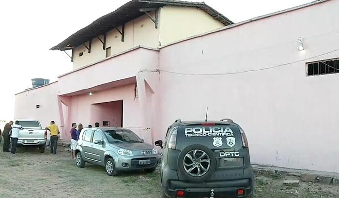 Local onde vítima foi morta (Crédito: Reprodução/TVMN)