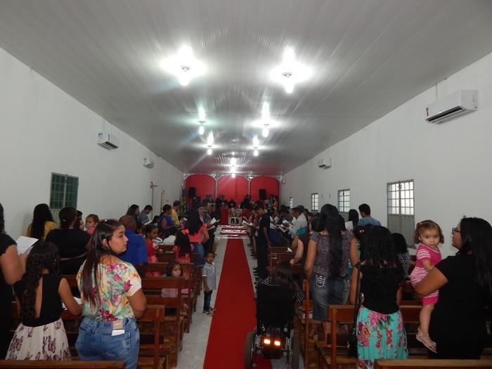 Culto na Igreja Assembleia de DEUS