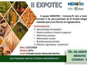 CEEP Coivaras: turma de Agropecuária/MedioTec realizará II EXPOTEC