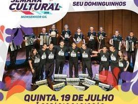 De 18 a 21 em Monsenhor Gil acontece a XVIII Semana Cultural