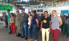Realizada aula inaugural do Pelotão Mirim de Coivaras