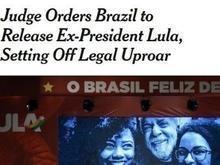 Imprensa internacional reage ao impasse sobre a libertação de Lula