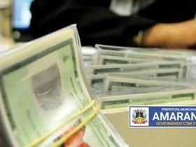 Prefeitura já está com Carteiras de identidade 'Junta Militar'