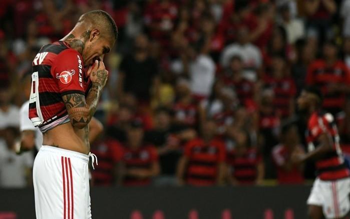 Última derrota de Guerrero pelo Flamengo foi no jogo contra o São Paulo, no Maracanã  (Crédito:  Alexandre Durão/GloboEsporte.com)