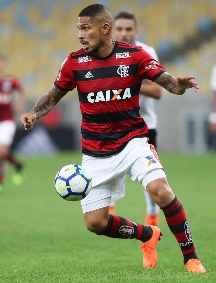 Guerrero entrou no segundo tempo contra o Sport: a última aparição  (Crédito:  Alexandre Durão/GloboEsporte.com)