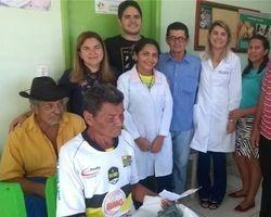 Prefeita anuncia reforma de posto de saúde em São João do Arraial