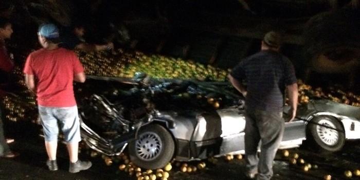Família de cantora gospel morre após ter carro esmagado por carga