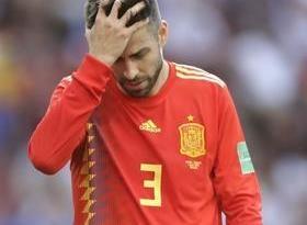 Piqué anuncia que não atuará mais pela seleção da Espanha