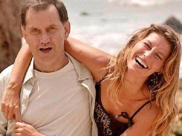 Gisele Bündchen homenageia pai e Tom Brady comenta publicação