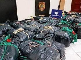 Polícia Federal apreende 13 toneladas de cocaína no Porto de Santos