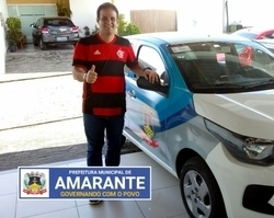 Prefeito Diego Teixeira adquire novo veículo para área da Saúde