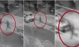 Câmeras flagram fantasma atravessando rua nas Filipinas; vídeo