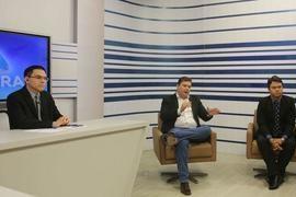 """Em Sabatina, Fábio Sérvio diz: """"Segurança Pública será prioridade"""""""