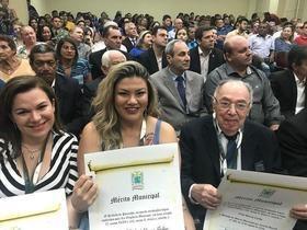 Prefeitura de Parnaíba homenageia personalidades