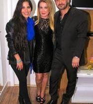 Wanessa Camargo curte festa com a mãe Zilu Godói e seu padrasto