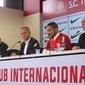 Ao ser apresentado no Inter, Guerrero promete retribuir o carinho