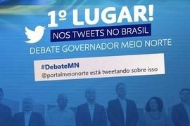 Debate na Rede MN registra grande interação nas redes sociais