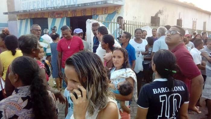 Recepção ao ex-prefeito Delano Parente (Crédito: reprodução redes sociais )