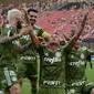 Palmeiras vence o Vitória por 3 a 0 no Barradão neste domingo (19)