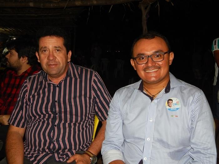 Paulo Roberto e Jllyvan Mendes