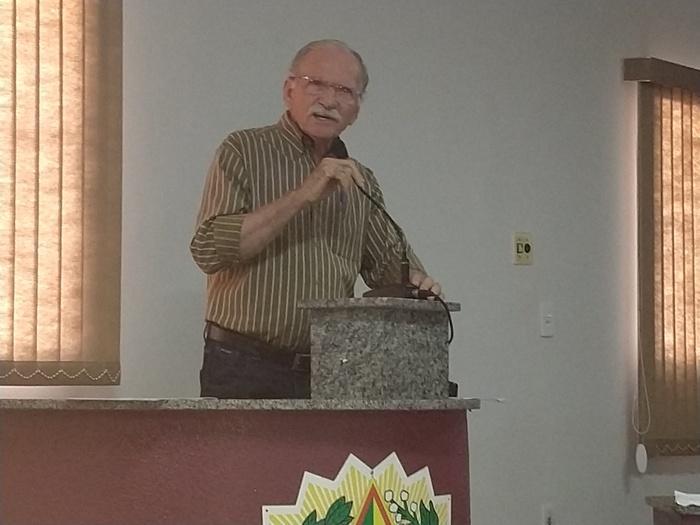 Dr, Evandro Aragão, secretário de desenvolvimento agrário