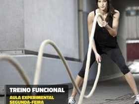 Vem fazer treinamento funcional no Picos Plaza Shopping