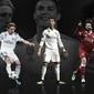 CR7, Modric e Salah concorrem para ser o melhor jogador da Europa