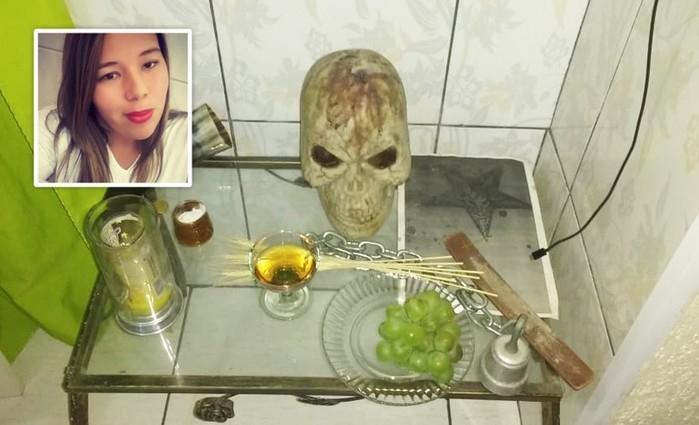 Morte de jovem em Mongaguá pode ter ligação com ritual satânico (Crédito: Reprodução)