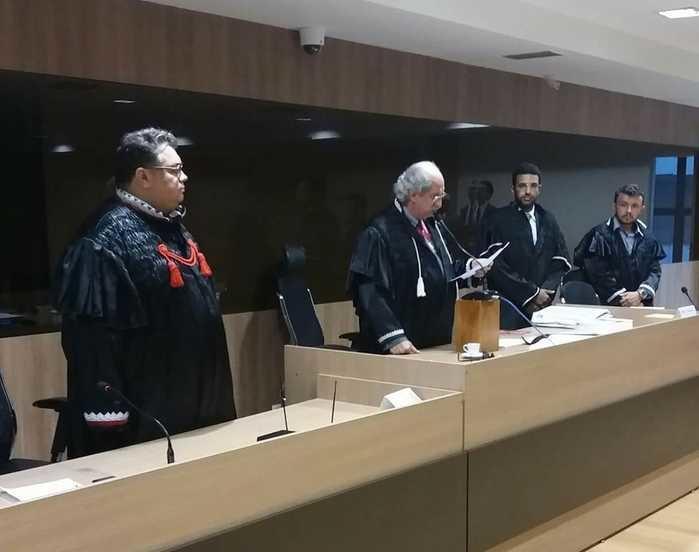 Sessão do Tribunal Popular do Júri (Crédito: Divulgação/MP-PI)