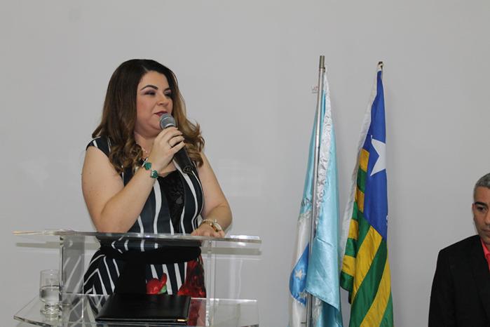 Presidente do Coren-PI, enfermeira Tatiana Guimarães (Crédito: Divulgação)