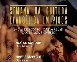Veja a programação para a I Semana de Cultura Evangélica de Picos