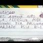 Criança faz bilhete em nome da professora para faltar na escola