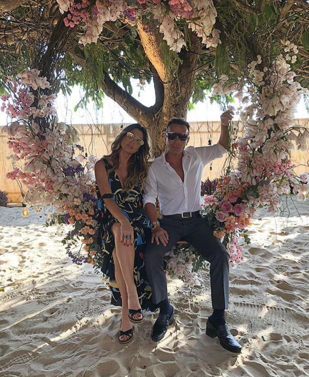 Matheus Mazzafera e Flávia Alessandra  (Crédito: Reprodução/Instagram)