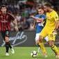 Em virada espetacular, Milan derrota Napoli neste sábado (25)