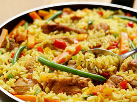 Revista Meio Norte ensina a preparar receita de paella de frango