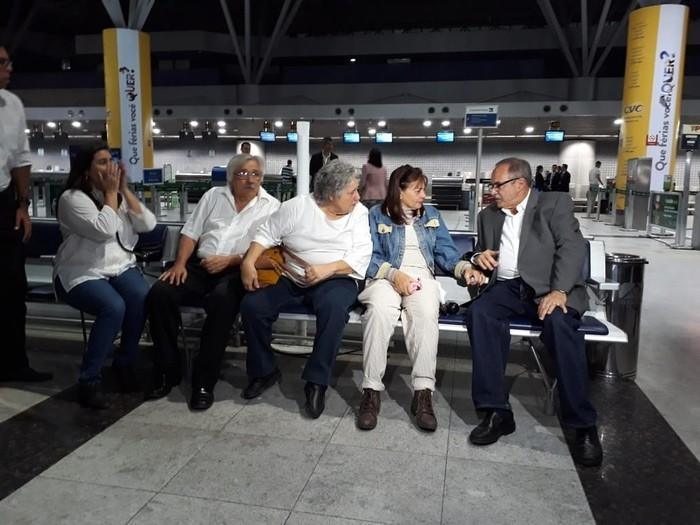 Família da estudante de medicina morta recebeu apoio o secretário estadual de Justiça (Crédito: Antonio Coelho/TV Globo)