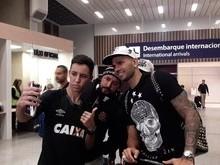 Castán chega ao Rio para exames e assinar contrato com Vasco