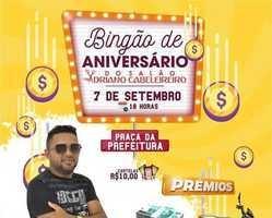 Bingão de 02 anos do Salão de Cabeleireiro O Adriano.