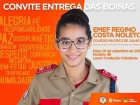Alunos da Escola Militar de Bombeiros receberão boinas neste sábado